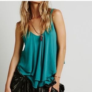 Free people twofer layered loose tank